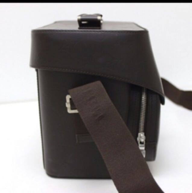 Authentic Louis Vuitton Charly Cafe Leather Sling Bag