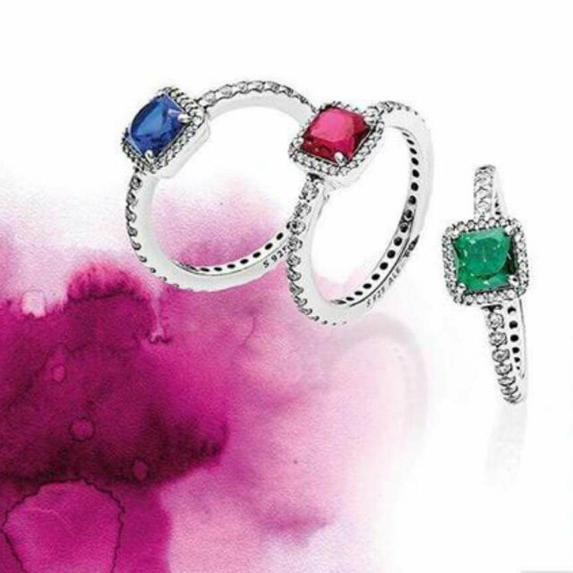 Authentic PANDORA Timeless Rings