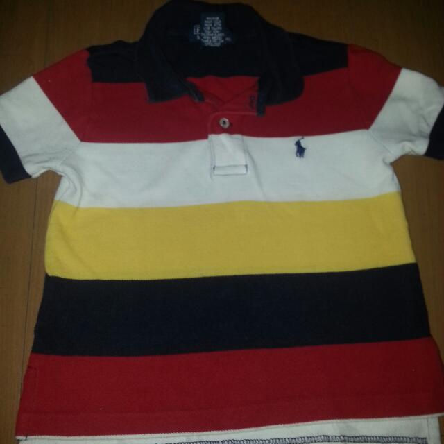 Authentic Polo Ralph Lauren Poloshirt For Toddler