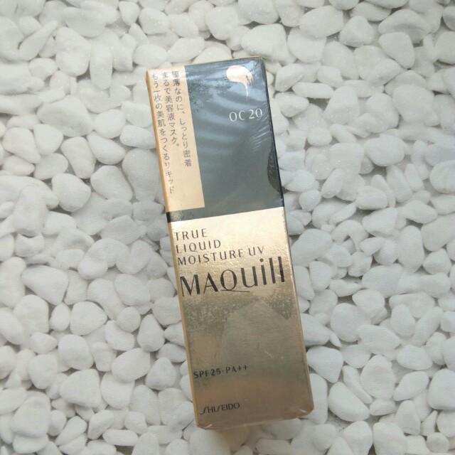 Authentic Shiseido True Liquid Long Keep Uv Foundation SPF 25+ PA+++