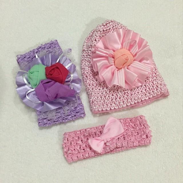 Baby Accessories - Cap and Headband