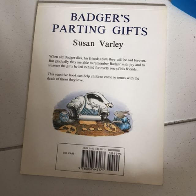 Badgers parting gifts books stationery childrens books on badgers parting gifts books stationery childrens books on carousell fandeluxe Images