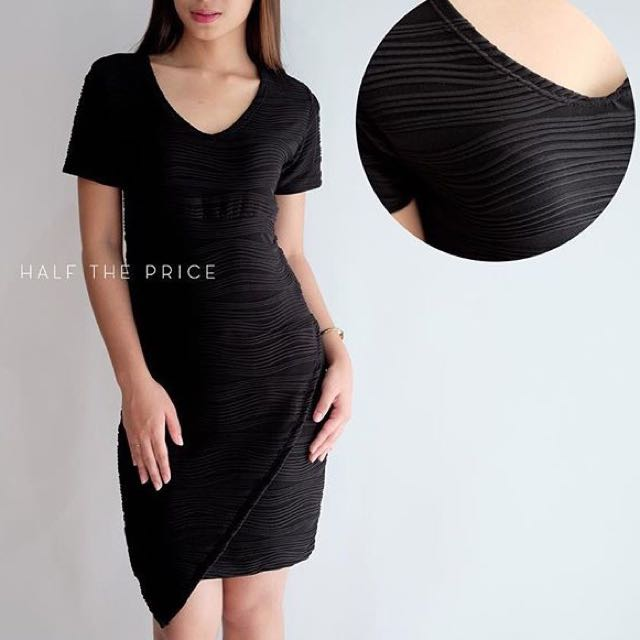 Black Origami Dress by HTP