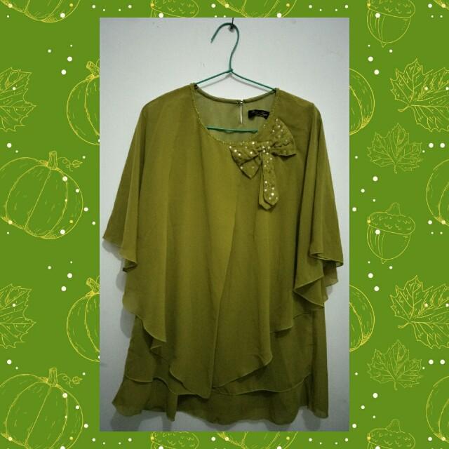 blouse/atasan wanita sifon cantik