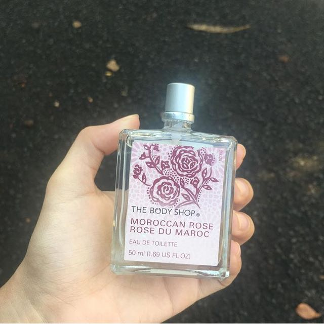 Body shop Morrocan rose