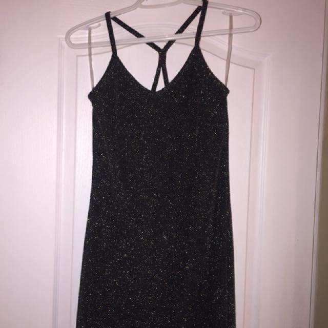 Bodycon Glitter Dress Size S