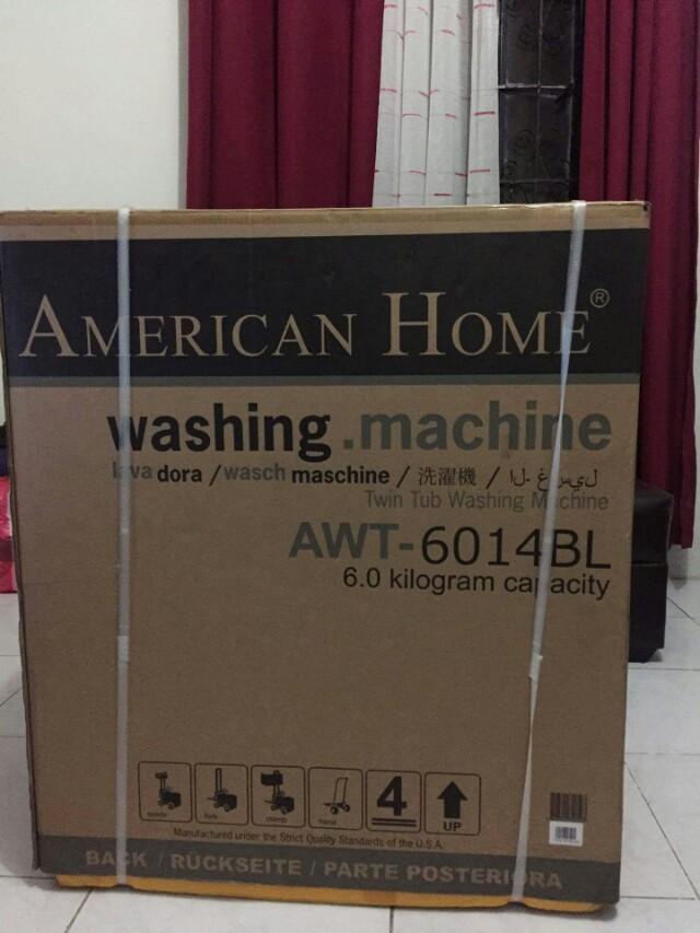 Brand New American Home Washing Machine