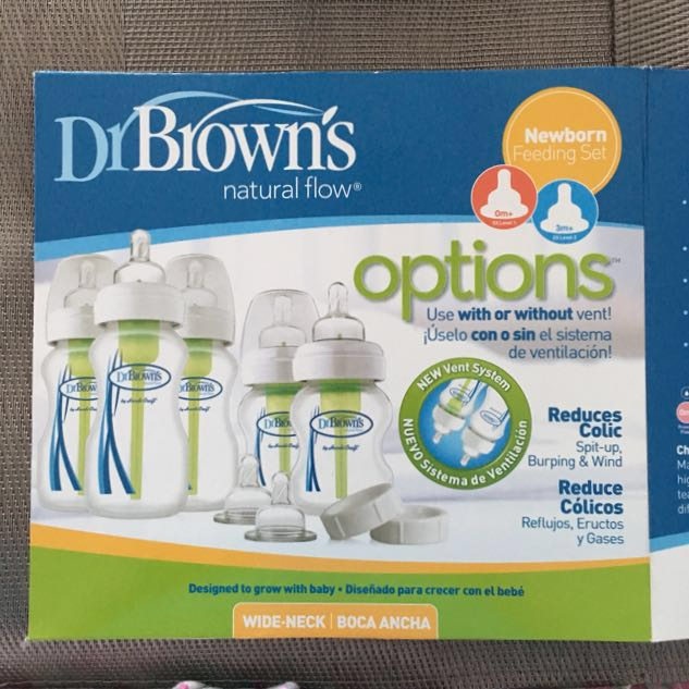 Brand New Dr. Brown's Newborn Feeding Set