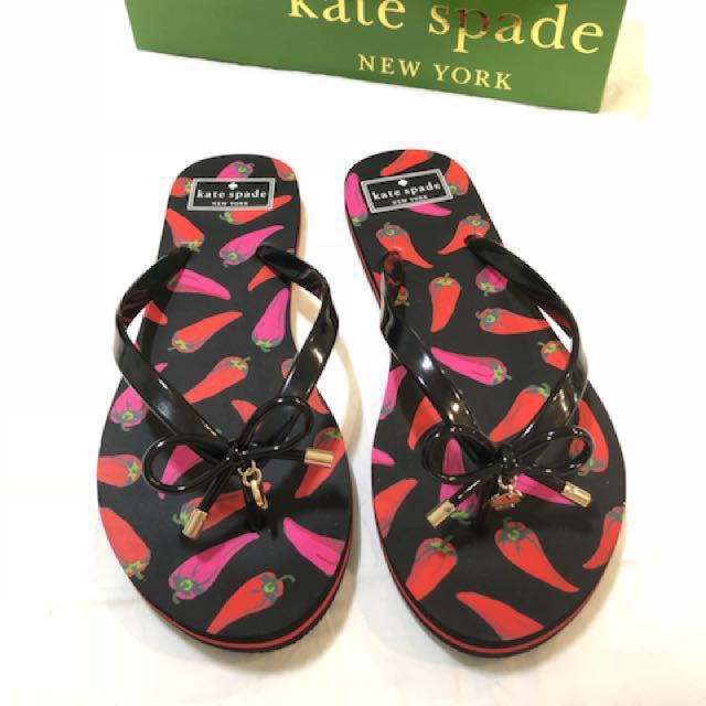 Kate Spade Slippers (Authentic