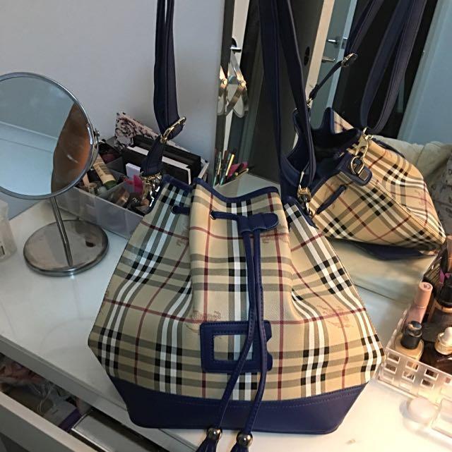 Burberry Blue Handbag
