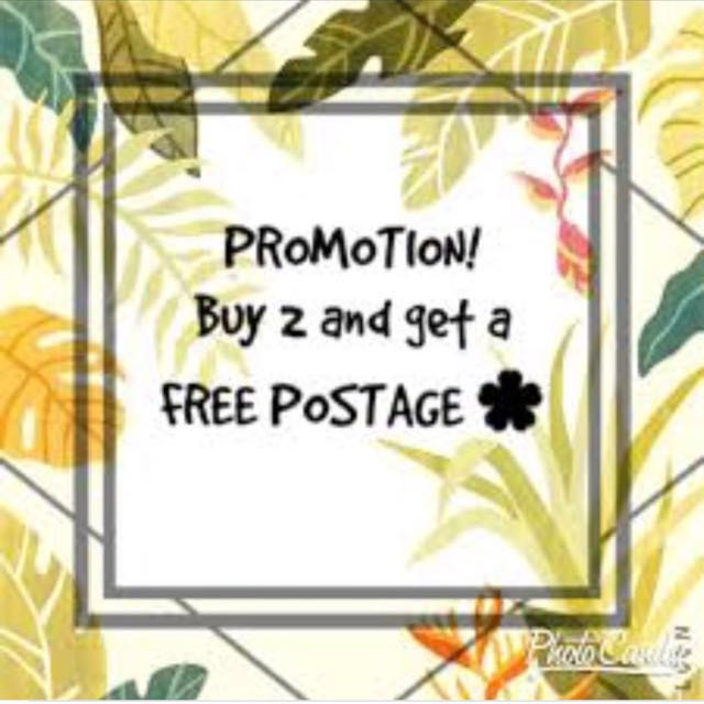 Buy 2 items get free postage!!