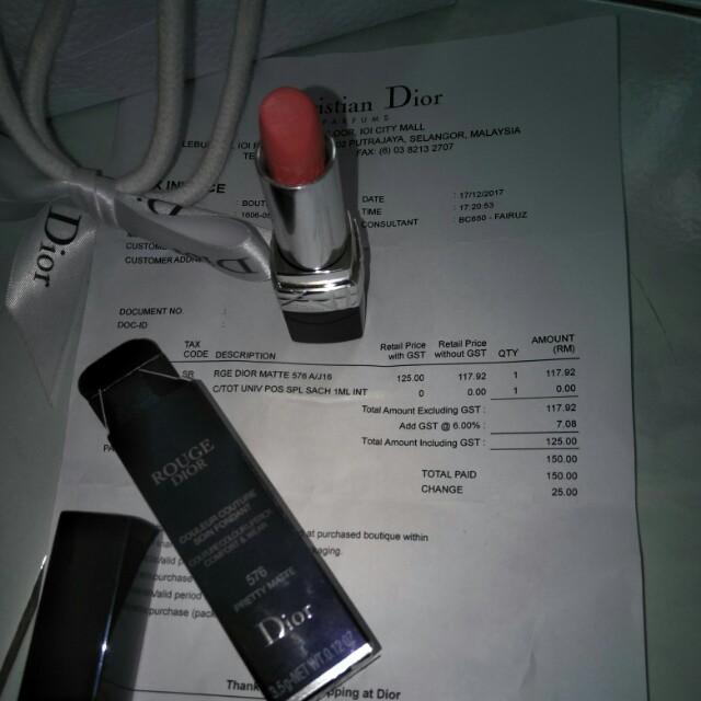 Christian Dior Lipstick