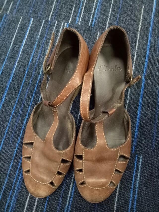 Clarks wedges original (leather)