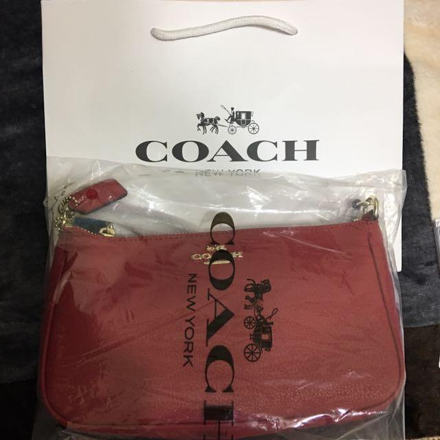Coach長背包