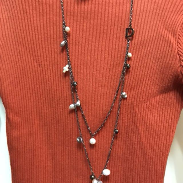D&D JEWELRY同組珍珠項鍊+手環 #聖誕禮物 超值