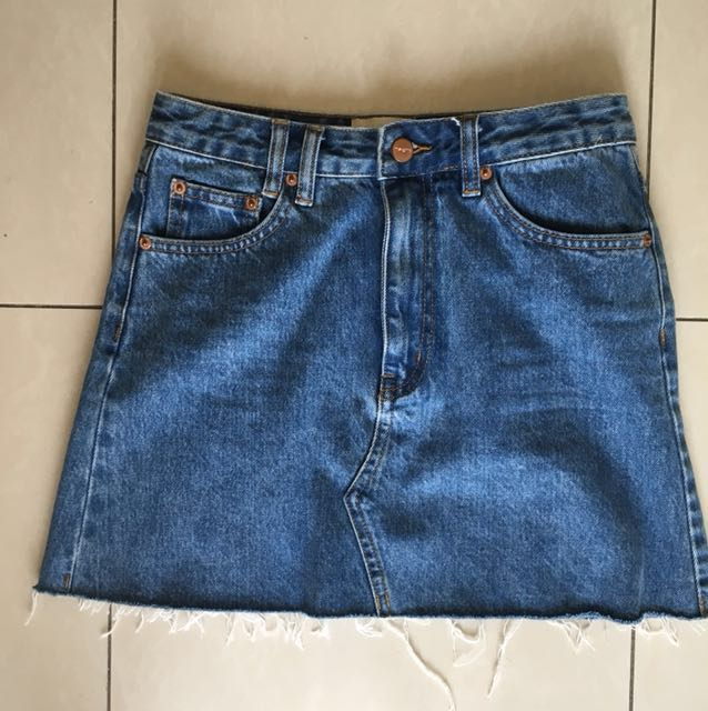 Denim Insight Skirt