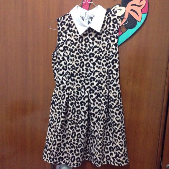 Dress Motif Leopard