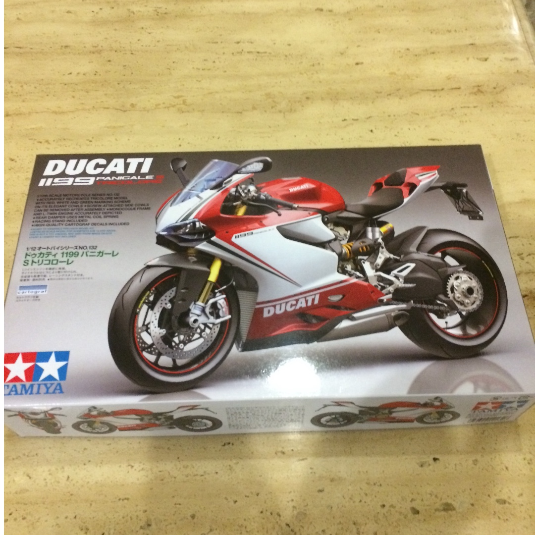 Ducati Panigale S Trico Tamiya Toys Games Other On Carousell Scale Kits 1199