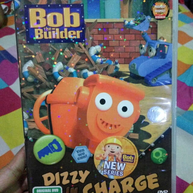 DVD Original Bob The Builder
