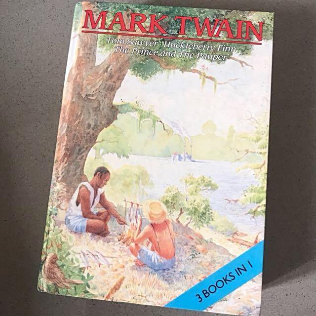 [English Hard Cover] Mark Twain Books