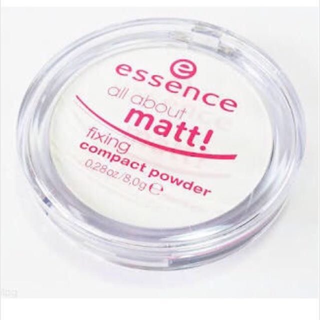 Essence Colorless Matte Finishing Compact Powder