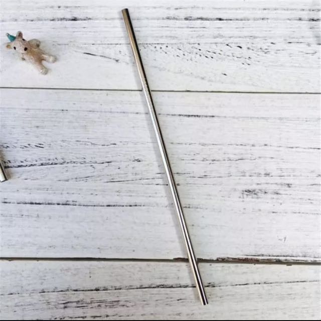 Food Grade 304 Stainless Steel Straw