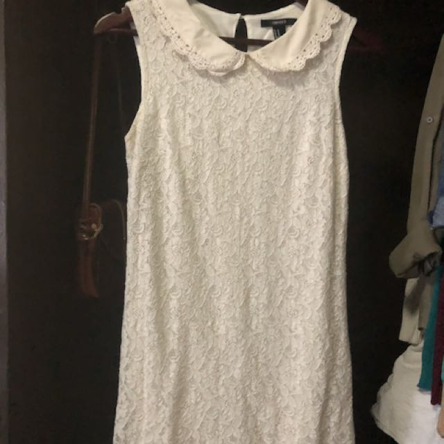 Forever 21 White lace dress