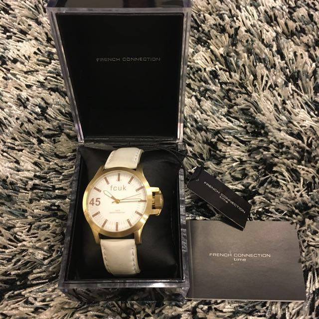2d1a9f4fe4b French Connection (FCUK) watch, Women's Fashion, Watches on Carousell