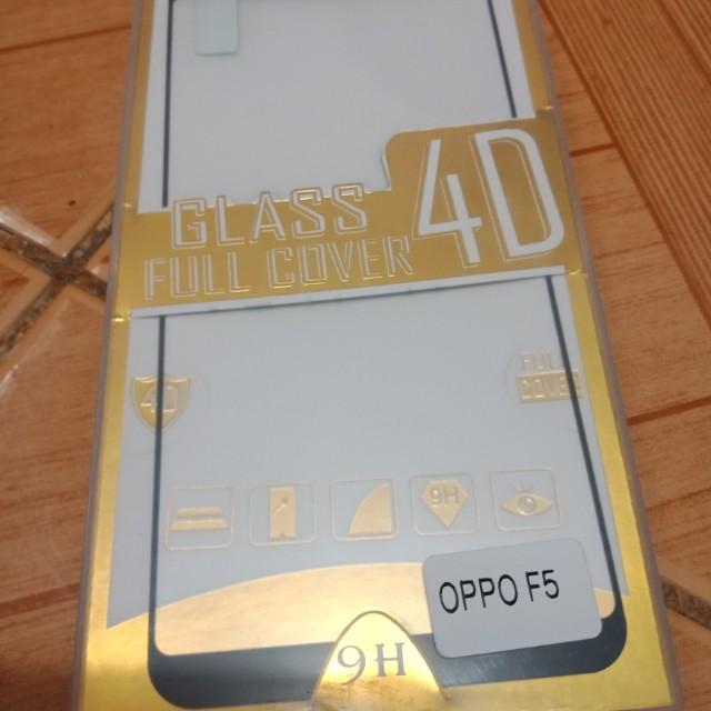 Full Tempered Glass for Oppo F5