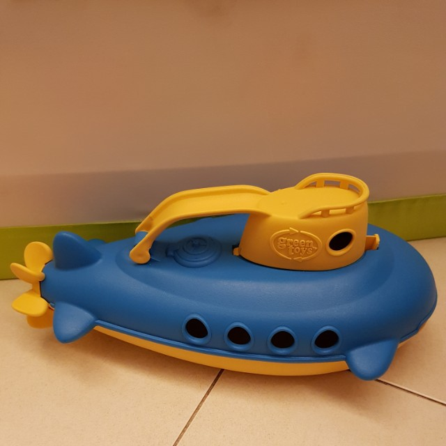 Green Toys Submarine Bath Toy, Babies & Kids, Toys & Walkers on ...