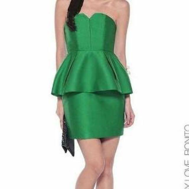Green Tube Dress Love Bonito