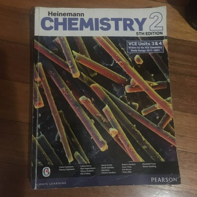 Heinemann Chemistry Textbook 2