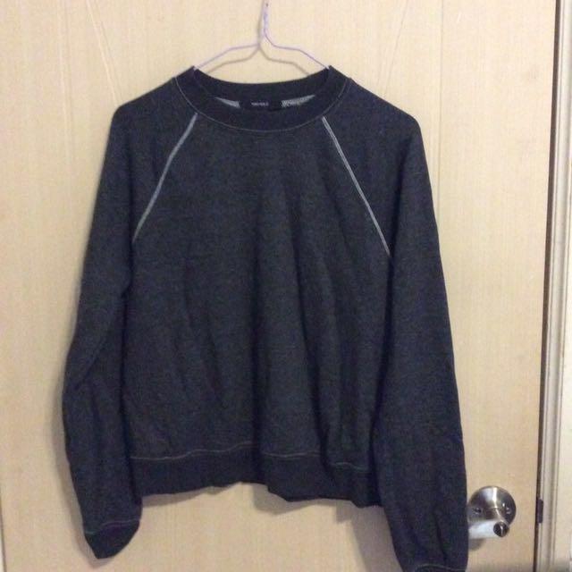 H&M深灰運動衫