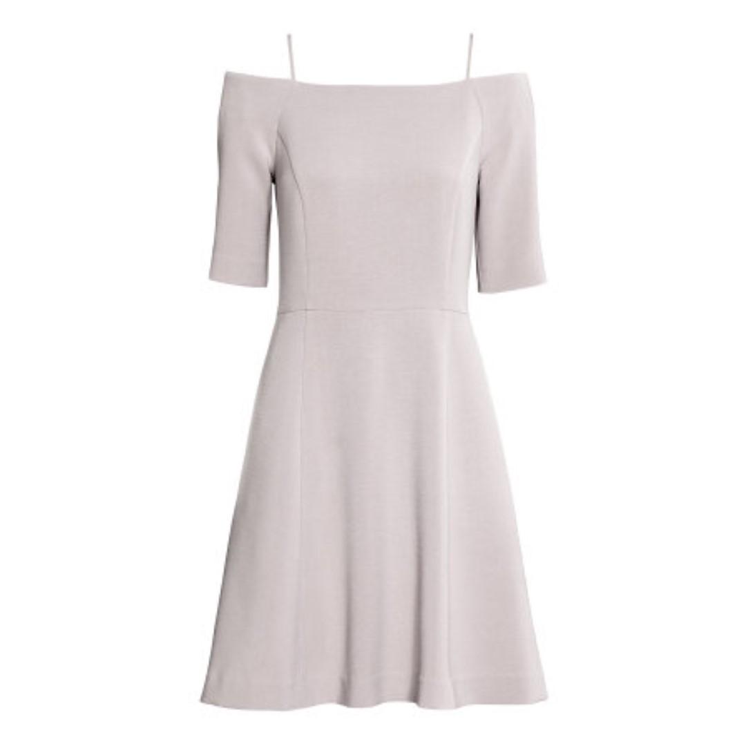 H&M Off Shoulder Dress (Midnight Blue)