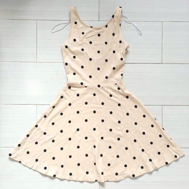 H&M Polka Dot Skater Dress