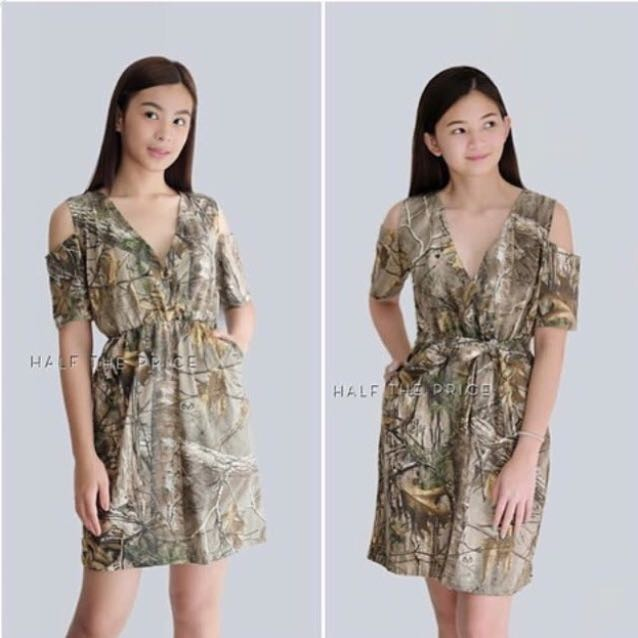 HTP Brown Cut Out Dress