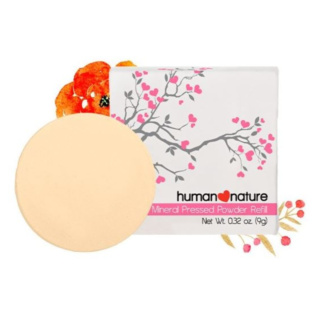 Human Nature Mineral Pressed Powder Refill - Orient Pearl