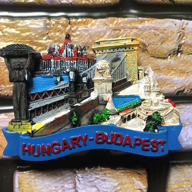 Hungary budapes souvenir ref magnet