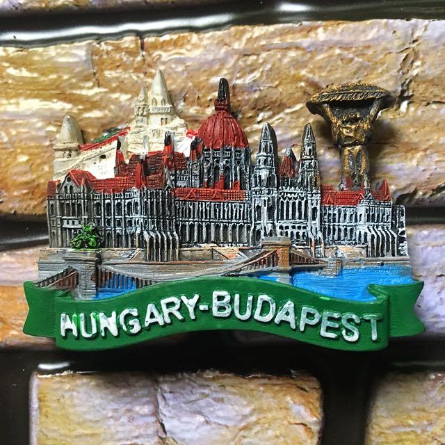 Hungary budapest souvenir ref magnet