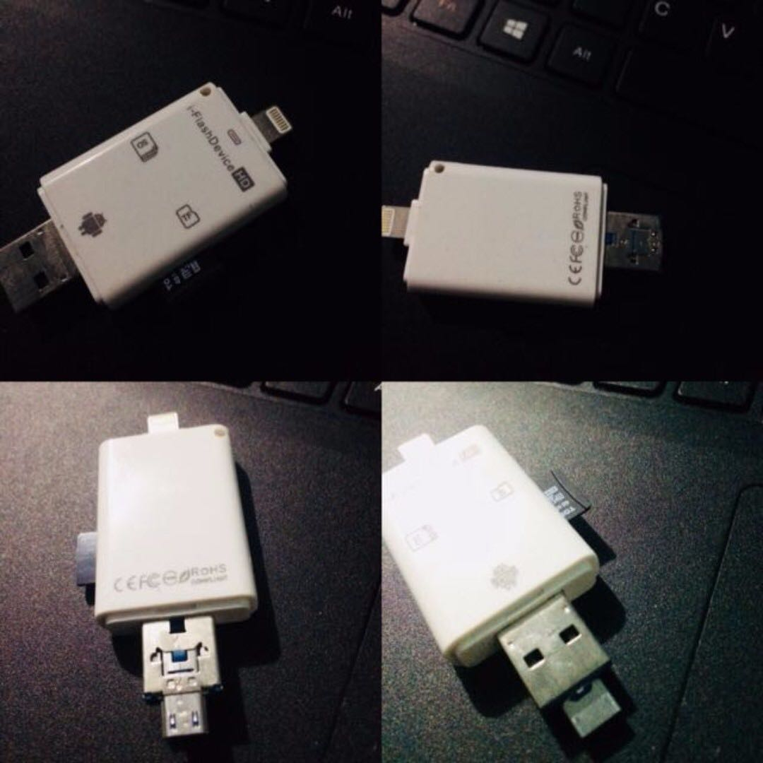 i-FlashDevice HD Card Reader