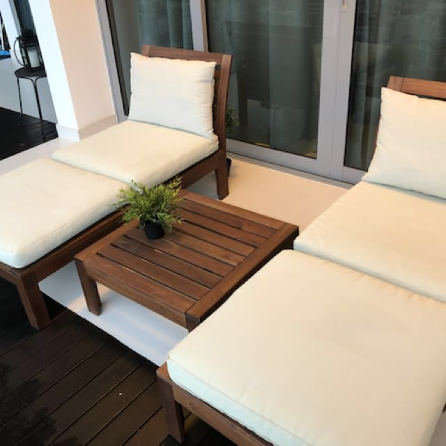 Peachy Ikea Applaro Outdoor Chair Table Furniture Tables Download Free Architecture Designs Scobabritishbridgeorg