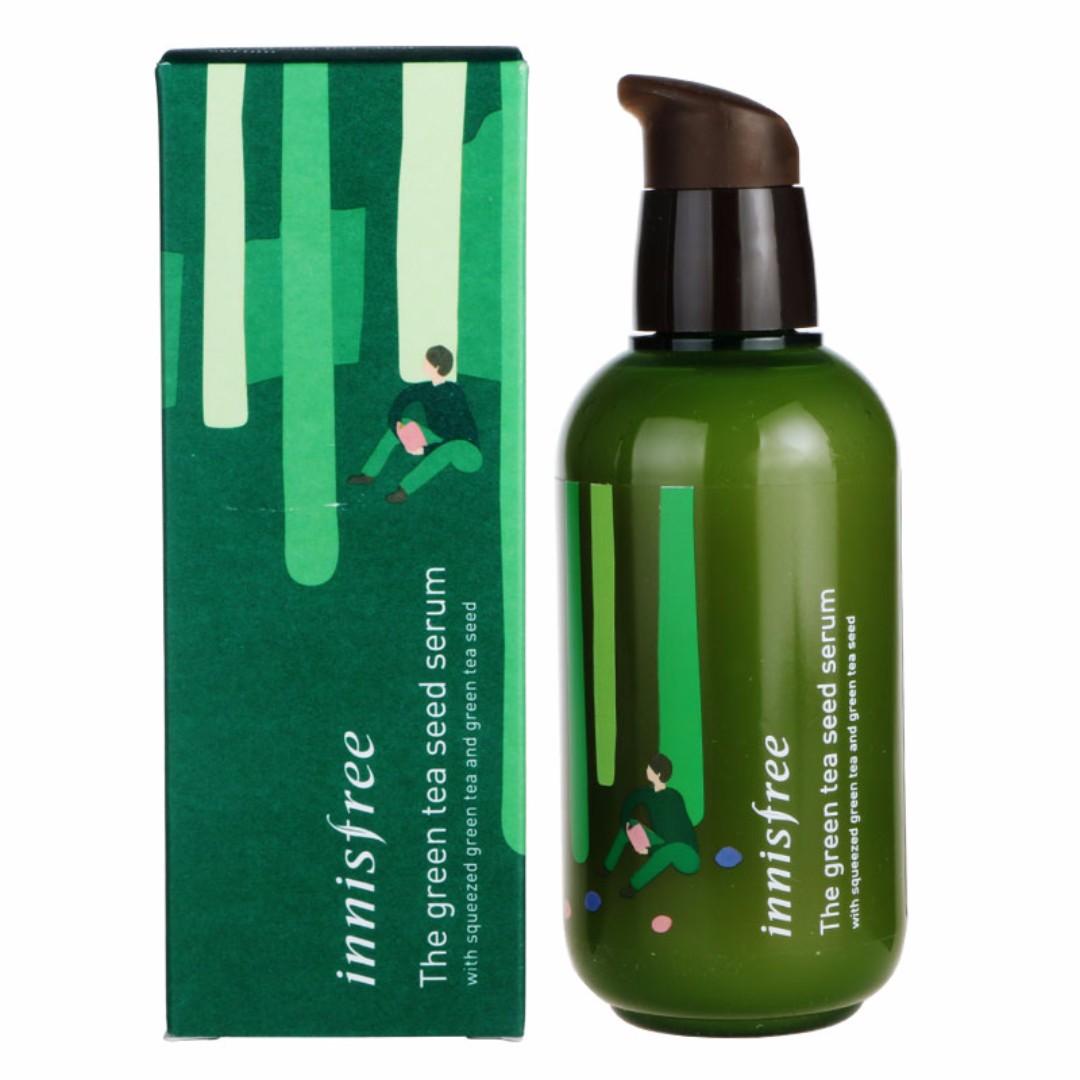 Green Tea Seed Serum Smallbatchbakingco Innisfree The 80ml Big Bottle 160ml Health Beauty Bath