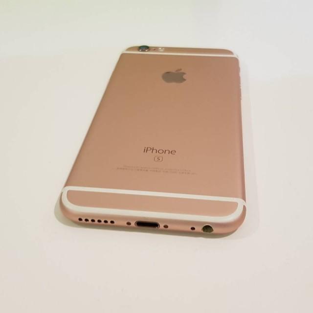 "iPhone 6S 128G 4.7"" 玫瑰金 有盒裝 9成9新 台積核心"