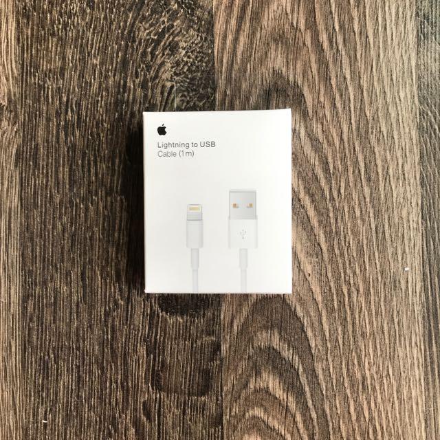 iPhone 原廠充電線