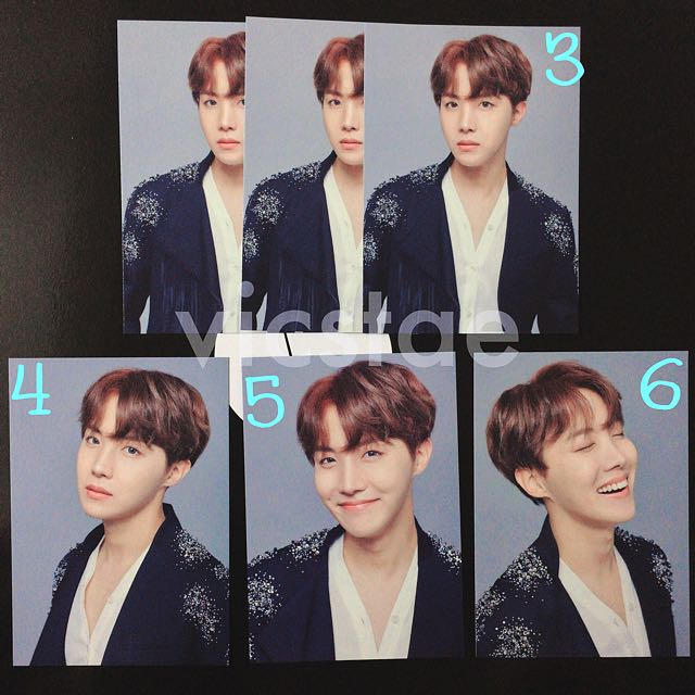 JHOPE / MINI PHOTOCARDS / BTS THE WINGS TOUR -THE FINAL- OFFICIAL MD