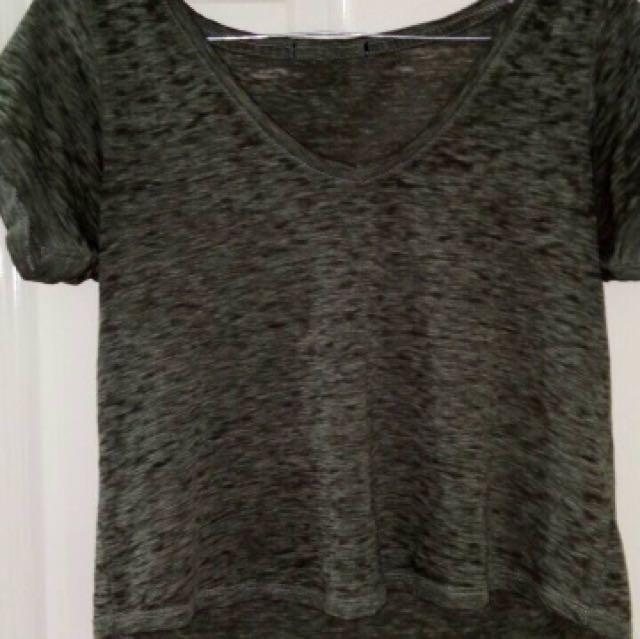 Khaki 'Cotton On' Tshirt