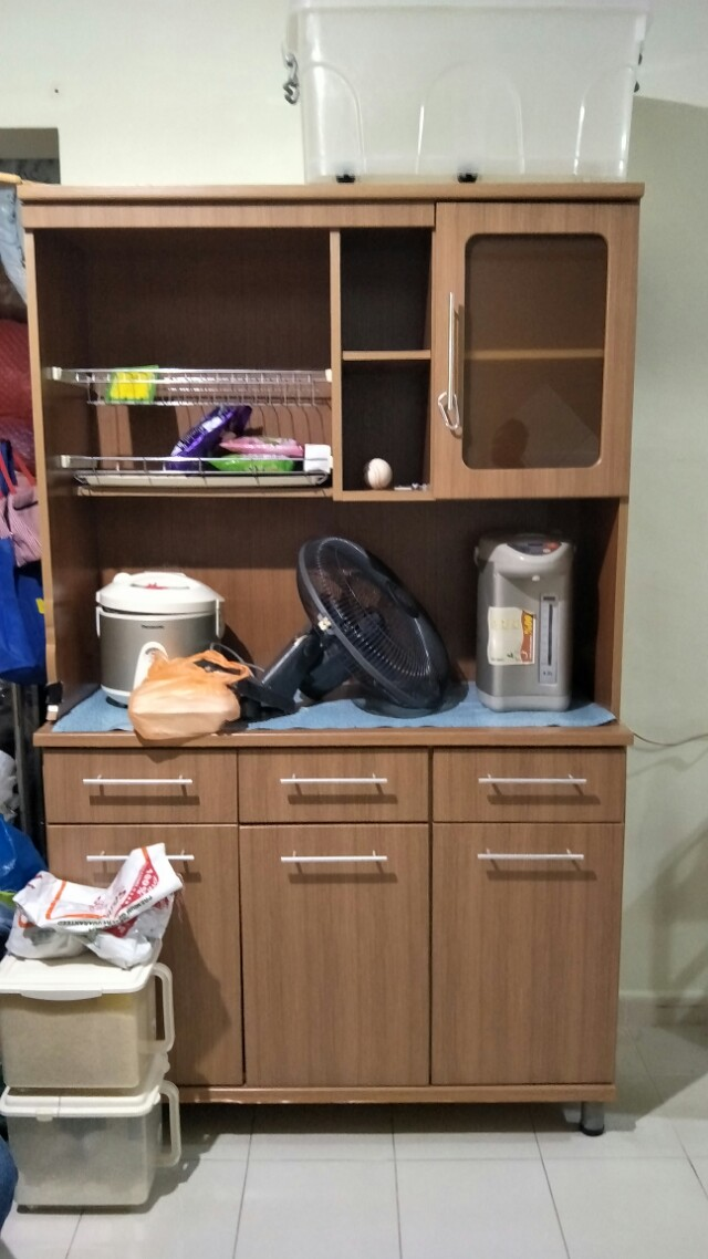 Kitchen Cabinet Furniture Shelves Drawers On Carousell