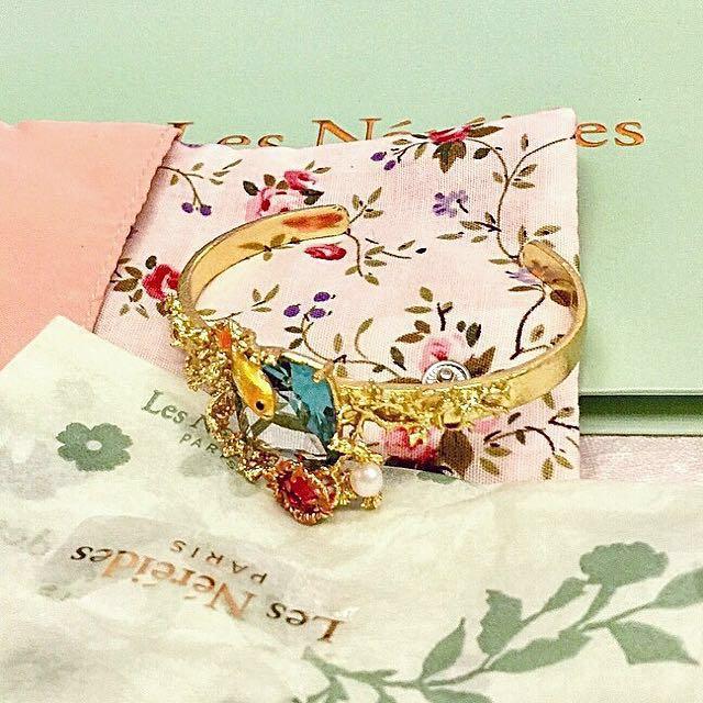 全新Les Nereides Paris 最新款手環(台灣買不到‼️)
