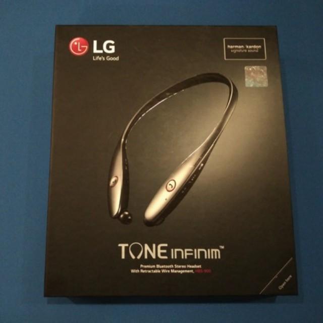 LG TONE INFINIM HBS-900 頂級藍牙立體聲耳機