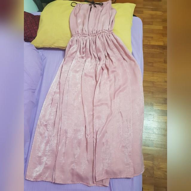 Long dress (pink)